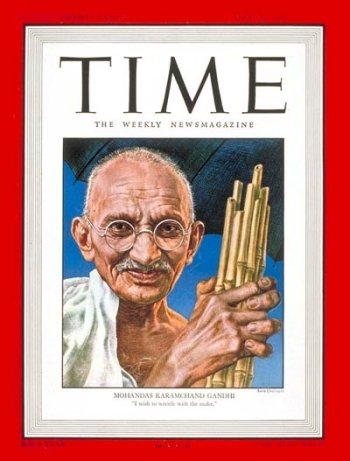 Time person of the year Gandhi