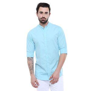 Dennis Lingo Men's Slim Fit Casual Shirt - Curiouskeeda