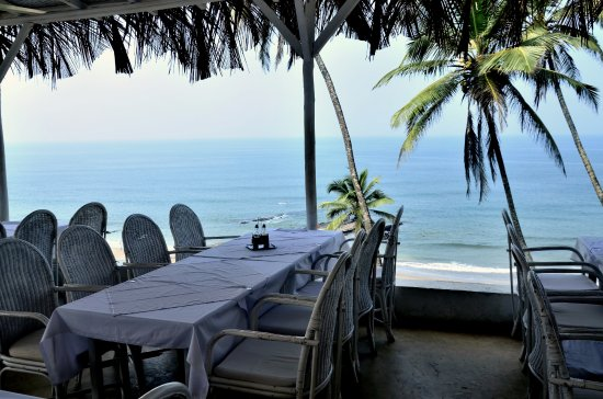 Thalassa restaurant in Goa