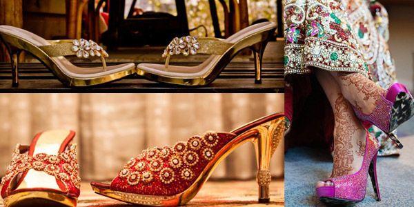 Indian wedding heels