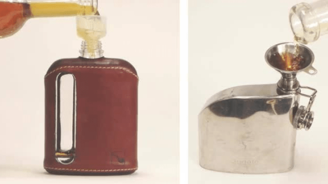 Filling Hip Flask - Curiouskeeda