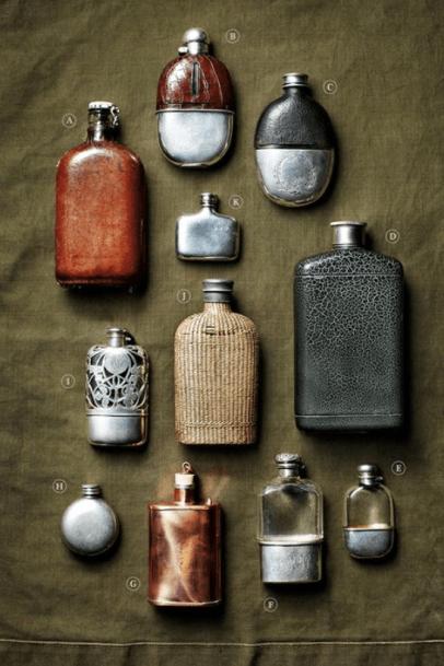 Hip flasks History