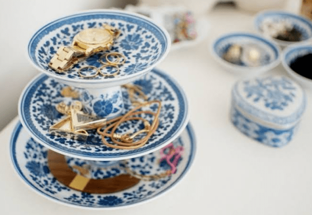 jewelry in plate