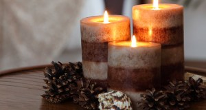 Packaged candles