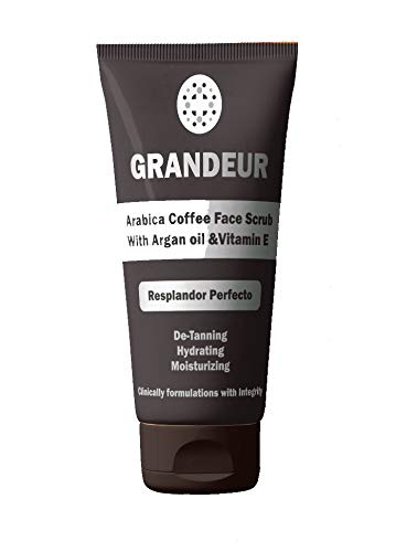 Grandeur Coffee Face Wash 100ml, With Coffee, Moringa Extract And Wheatgerm Oil | Deep Cleansing | Glowing & Smooth Skin | Maintains pH Balance