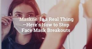 Maskne prevention