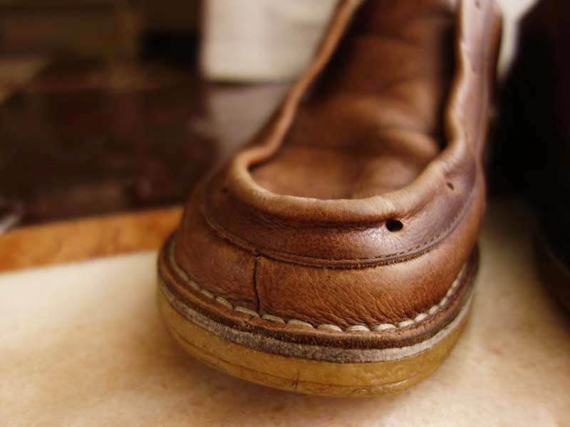 how to make old leather shoes look new
