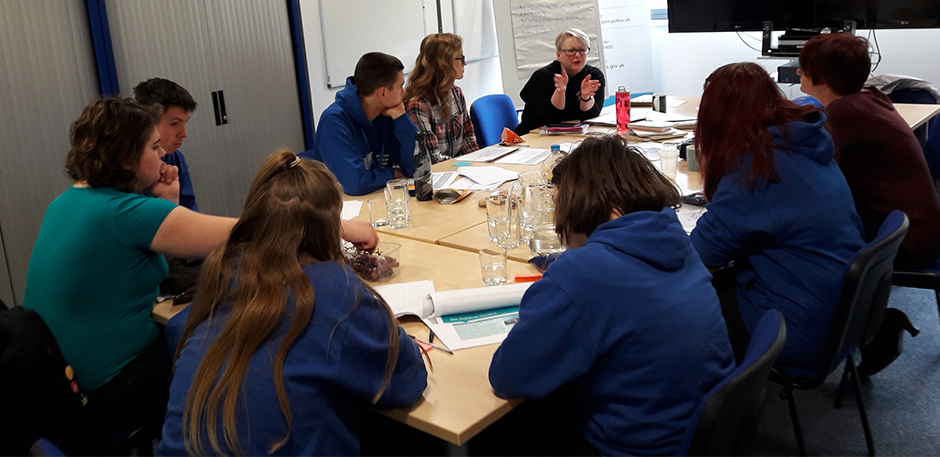 Journeys Through Justice Consultation with Norfolk PCC Youth Commission