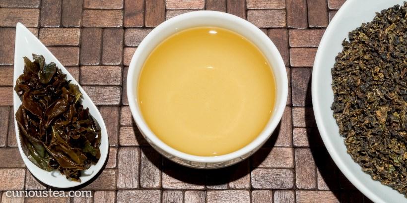 Taiwan Nantou Organic Mi Xian Honey GABA Oolong
