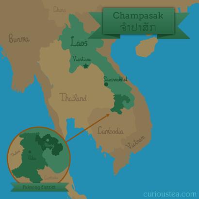 Paksong district, Champasak, Laos