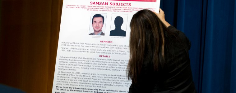 Iranian SamSam Suspects Charged