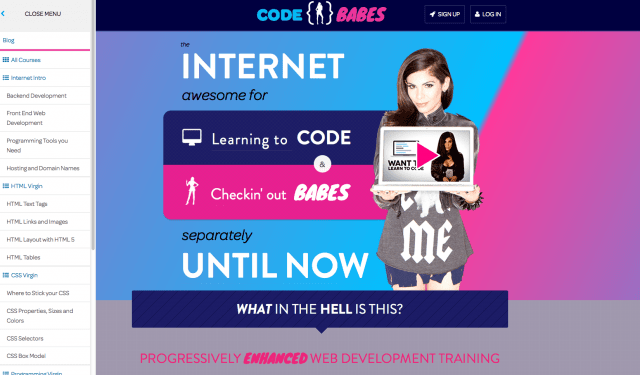 codebabes screenshots