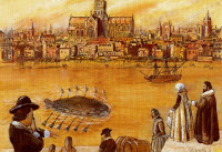¿Cuál fue el primer submarino?