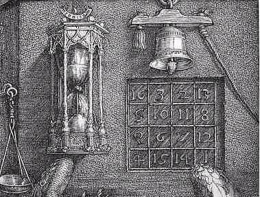 Los cuadrados mágicos