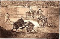 Aroca, torero, contra el francés