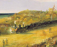 El primer ferrocarril español estaba en Cuba