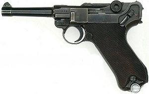 Origen del 9mm Parabellum