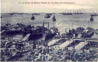 El pionero desembarco de Alhucemas