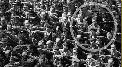 La foto de August Landmesser