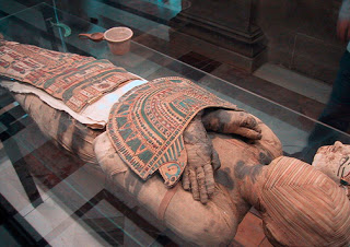Momia egipcia. Foto: Zubro