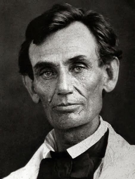 Lincoln en 1858