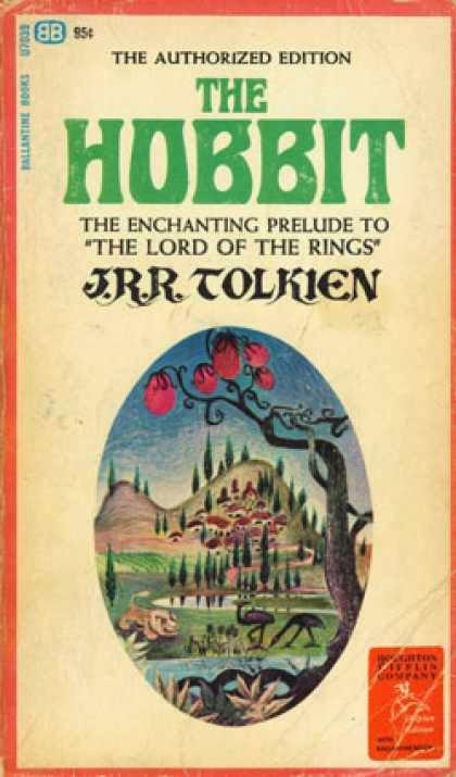 La portada de El Hobbit que no gustó a Tolkien