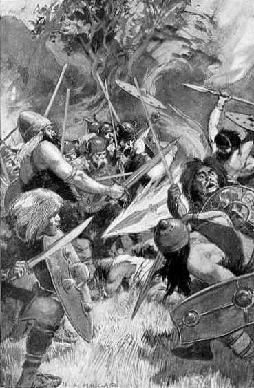 El día que los galos arrasaron a los romanos