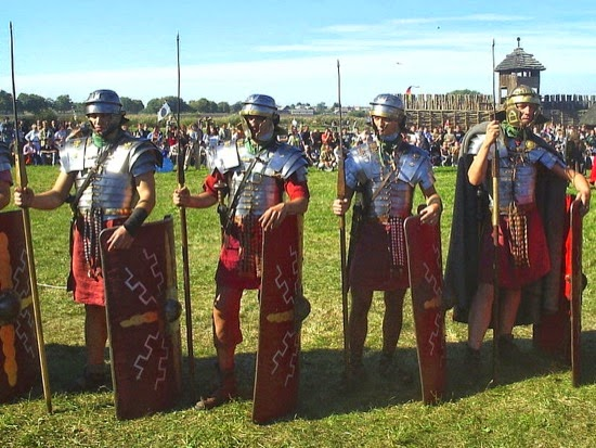 Legionarios romanos (recreación)