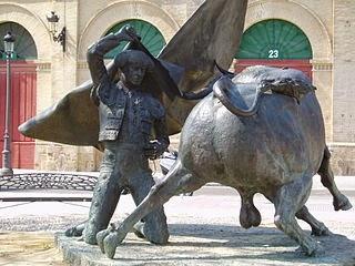 Estatua de Paquirri en El Puerto de Santa María