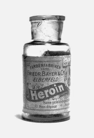 La heroína, el gran remedio contra la adición a la morfina