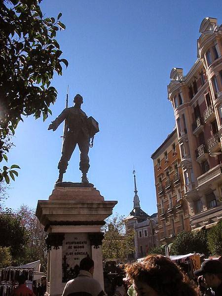 Estatua de Eloy Gonzalo, Cascorro