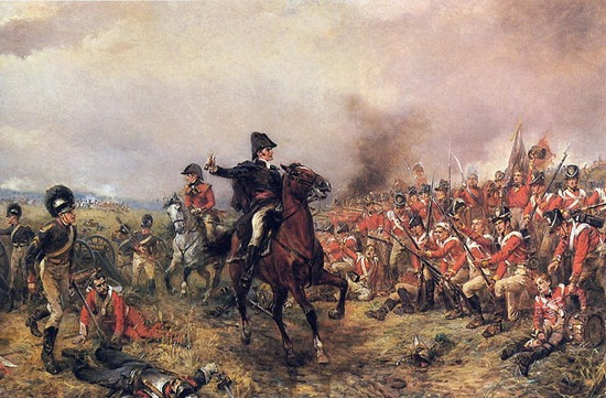Wellington antes de Waterloo