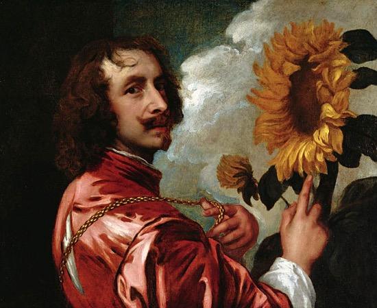 Dos retratos de Van Dyck iguales pero con distinta cabeza
