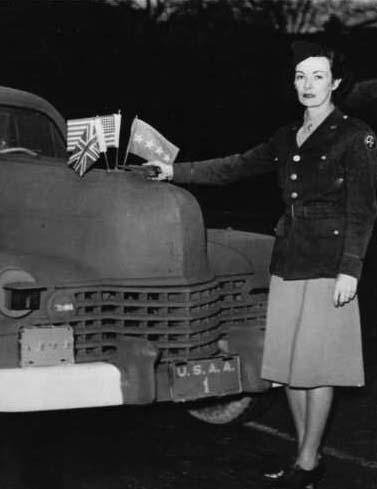 Kay Summersby, la chófer de Eisenhower