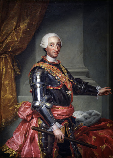 La primera vez de Carlos III