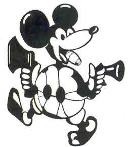 El avión de Adolf Galland, con mechero y un Mickey Mouse