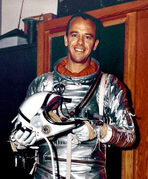 El primer hombre que jugó al golf en la Luna