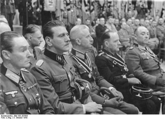 Vídeo del funeral en Madrid del nazi Otto Skorzeny