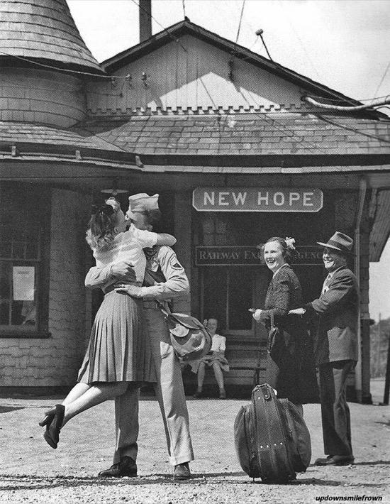 La vuelta a casa en 1945