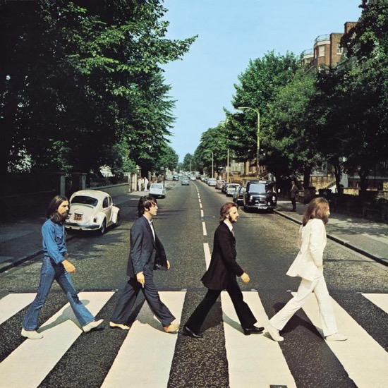 Portada del Abbey Road de The Beatles