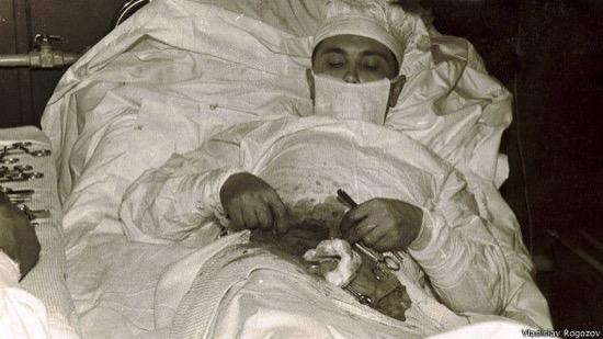 Leonid Rogozov, el médico que se operó a sí mismo