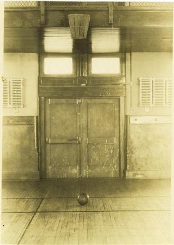 La pista original donde nació el baloncesto en Springfield