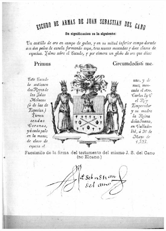 Escudo de Elcano