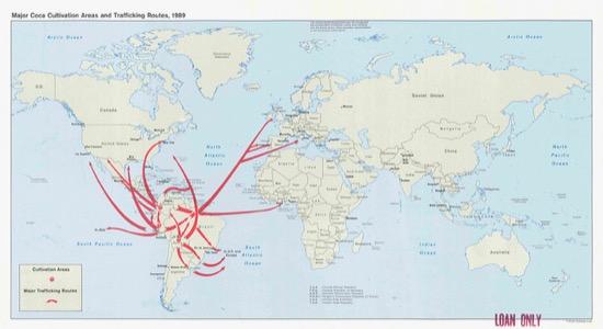 Producción mundial de coca (1990)