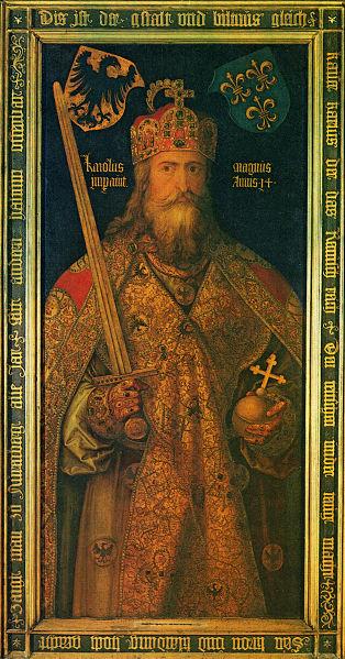 Carlomagno y su espada