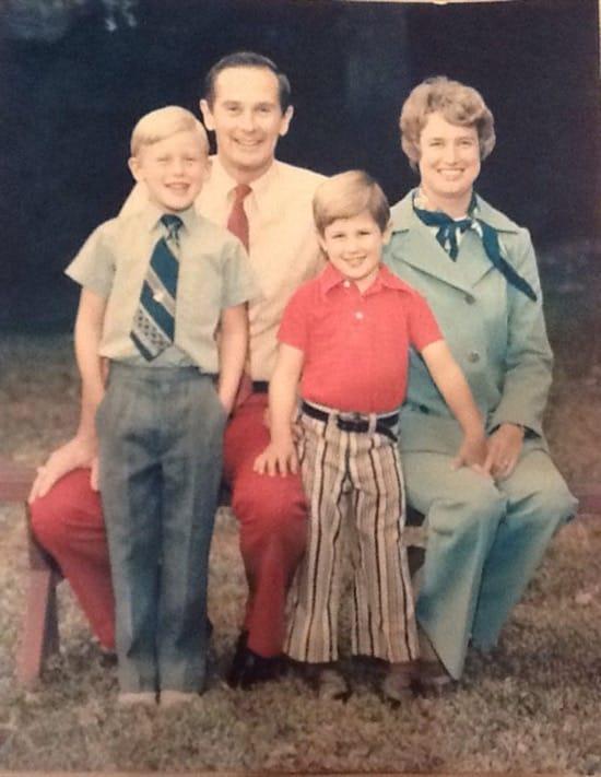 Esta es la foto de la familia de Duke