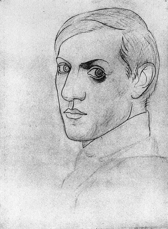 Autorretrato de Pablo Picasso