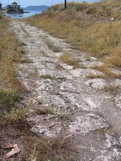 El Diolkos de Corinto