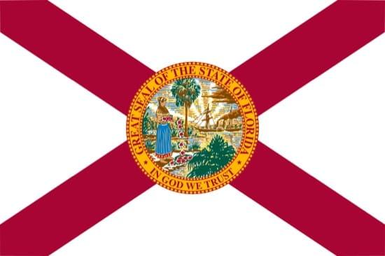 La bandera de Florida tiene la cruz roja por su pasado español