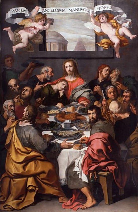El error de la Última Cena y las naranjas -- Daniele Crespi